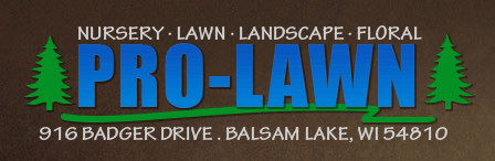 Balsam Lake Pro-Lawn Logo