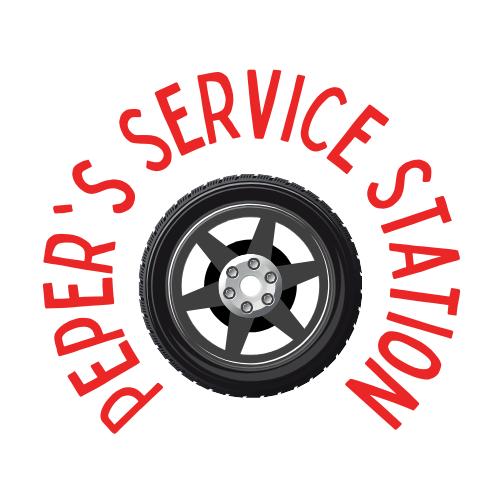 Peper's Service Station Logo