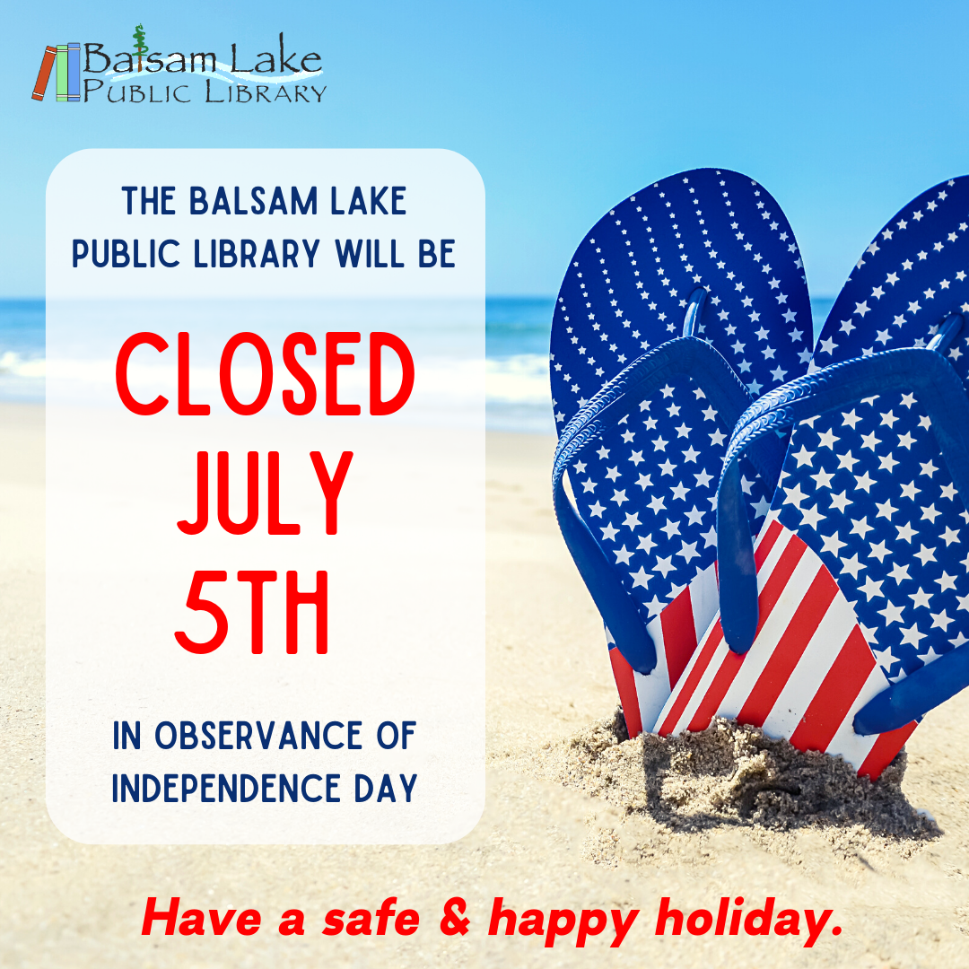 We will be closed July 5th in observance of Independence Day, Have a safe & happy holiday.